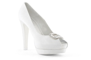 photo of wedding shoes bridal heels by Rosa Clara 2013 121