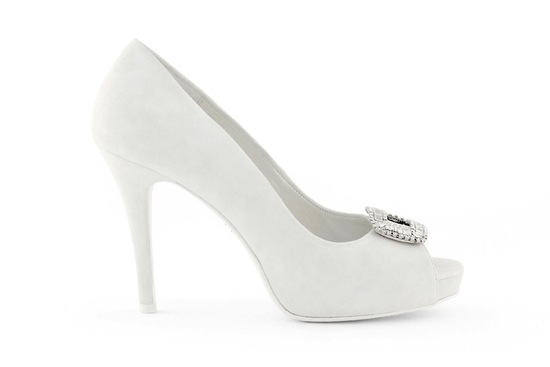 wedding shoes bridal heels by Rosa Clara 2013 1b