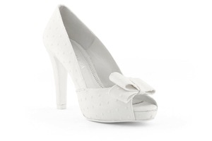 photo of wedding shoes bridal heels by Rosa Clara 2013 2