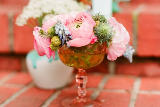 Anthropologie inspired wedding for vintage romantic brides 1