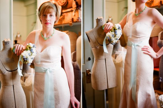 Anthropologie inspired wedding chic vintage bride
