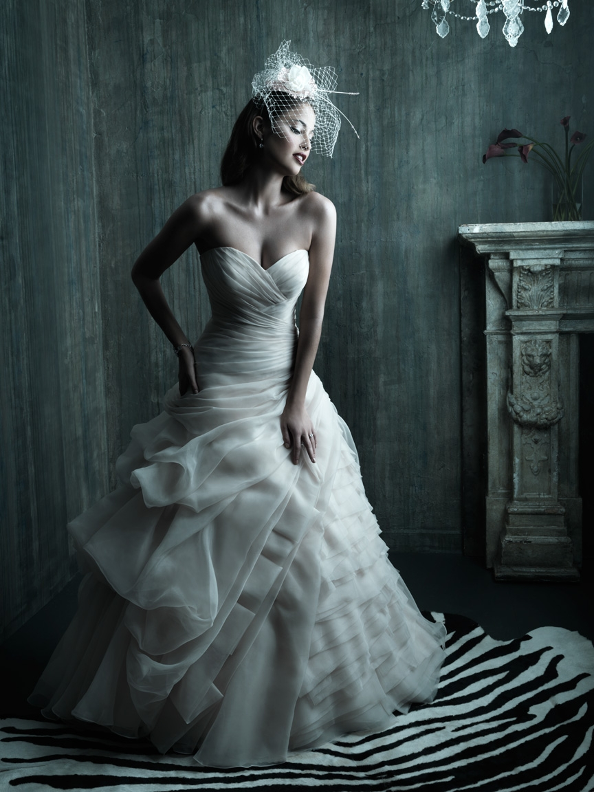 2013 wedding dress allure couture bridal gowns c209