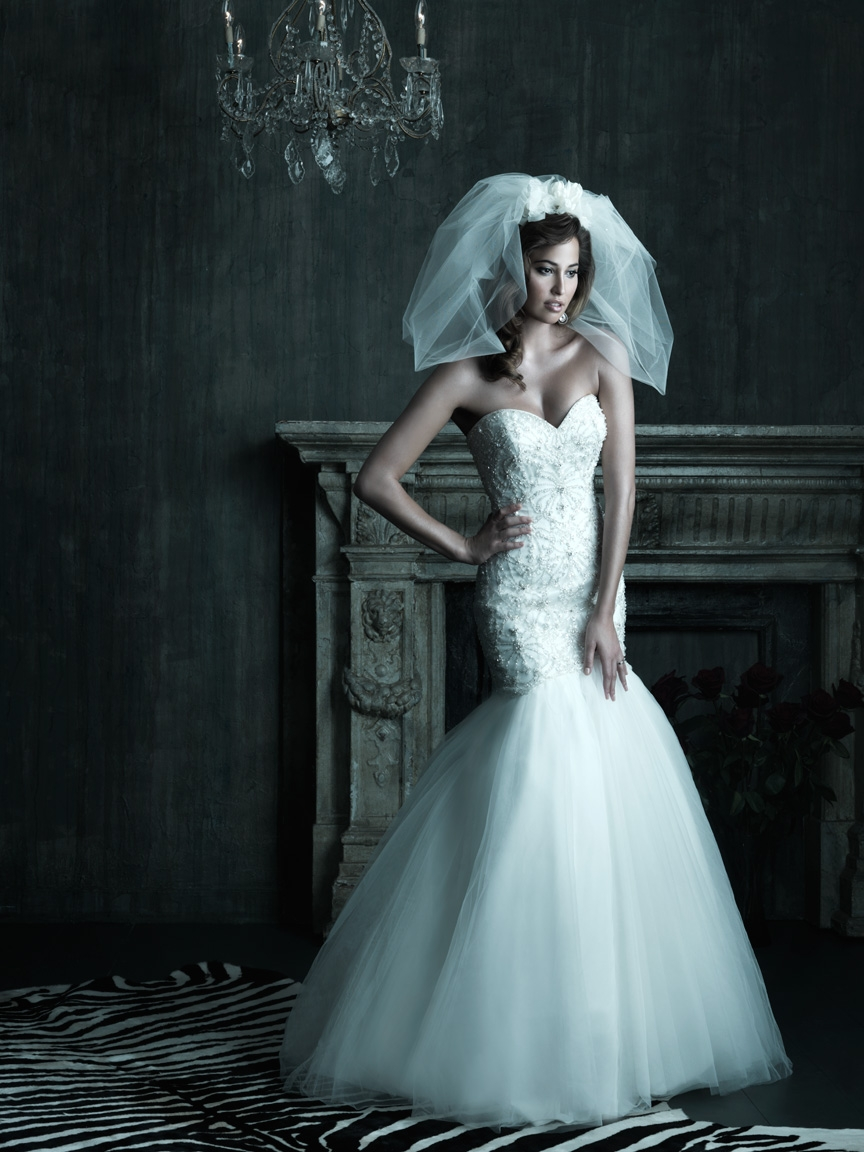 Couture Wedding Dresses Brigg : Wedding dress allure couture bridal gowns onewed