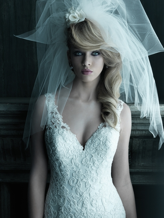 2013 wedding dress Allure Couture bridal gowns c202 3