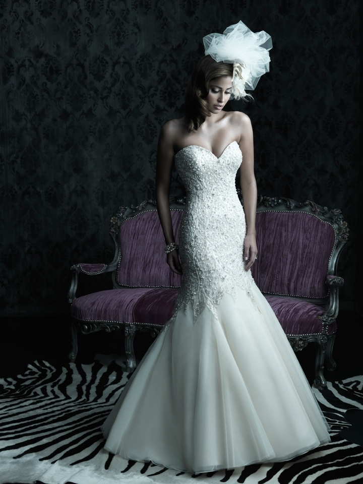 2013 wedding dress Allure Couture bridal gowns c227