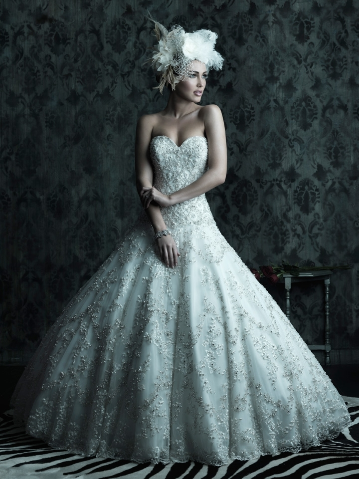 2013 Wedding Dress Allure Couture Bridal Gowns C225