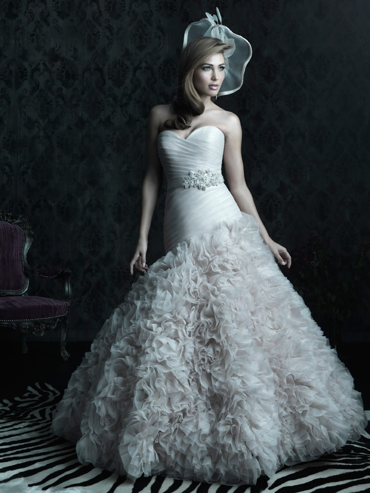 2013 wedding dress Allure Couture bridal gowns c224