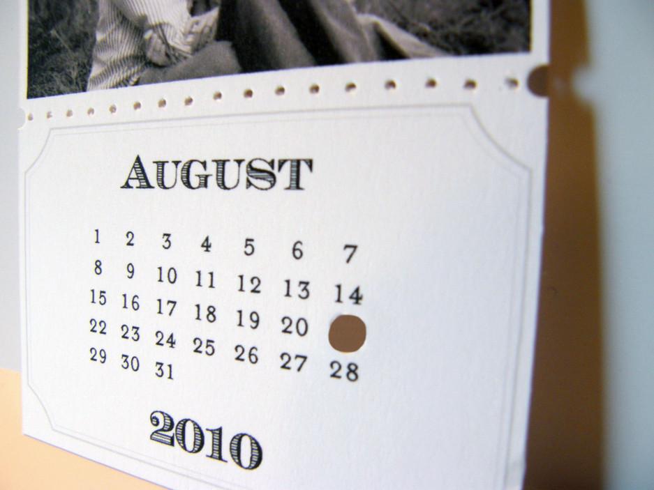 Calendar On Onewed