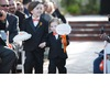 Cute-ring-bearers-priceless-wedding-photos-orange-black-white.square