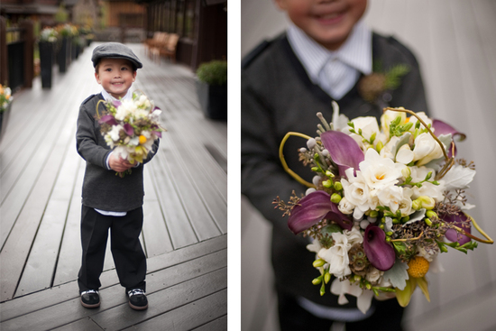 photo of Adorable Ring Bearers + Talented Photographers = Priceless Wedding Photos