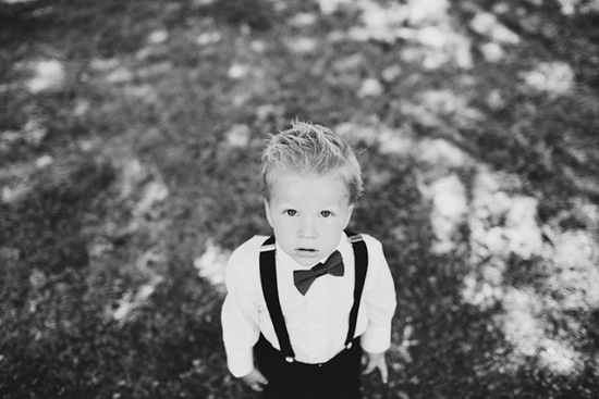funny wedding photos escape from wedding planning stress Unforgettable Ring Bearers black and white