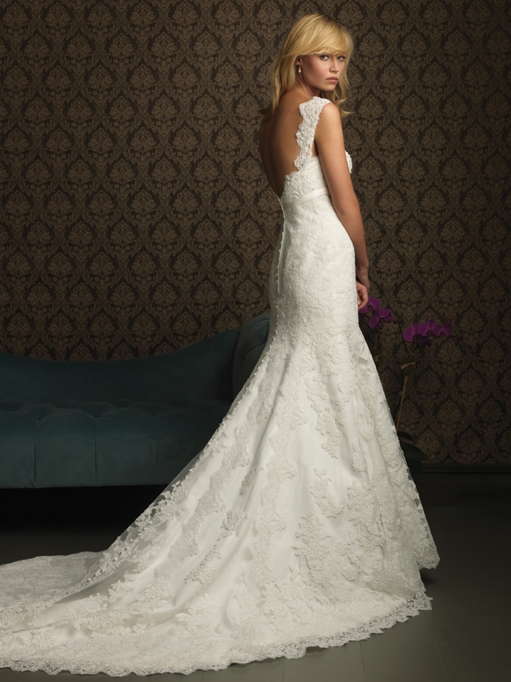 gorgeous 2013 wedding dress by Allure bridal gowns 8770