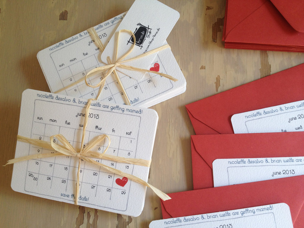 Unique-wedding-save-the-dates-calendar-design-invitations-on-etsy-red-white-hearts.full