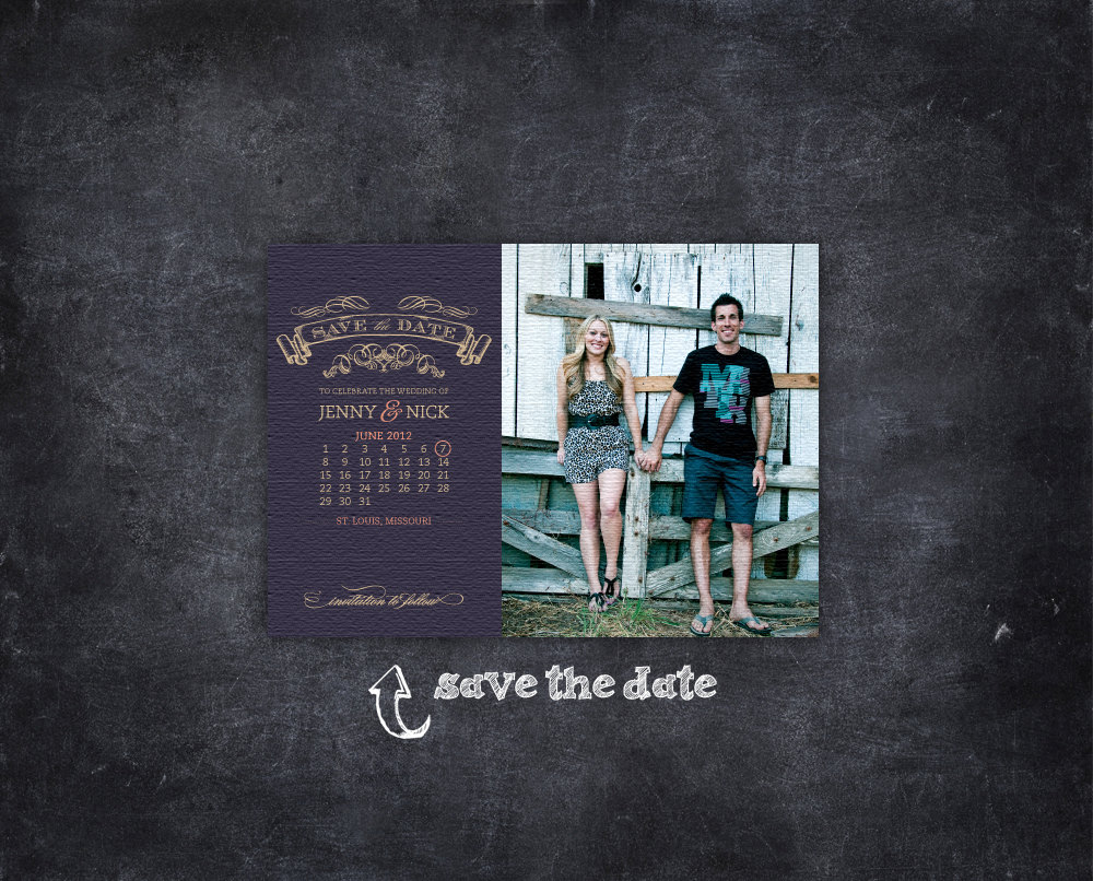 Unique-wedding-save-the-dates-calendar-design-invitations-on-etsy-vintage-chalkboard.original