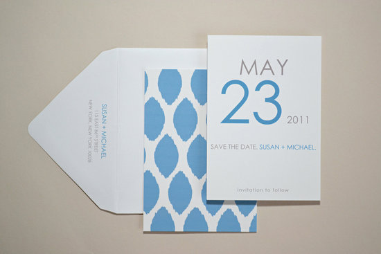 unique wedding save the dates calendar design Invitations on Etsy modern cool colors