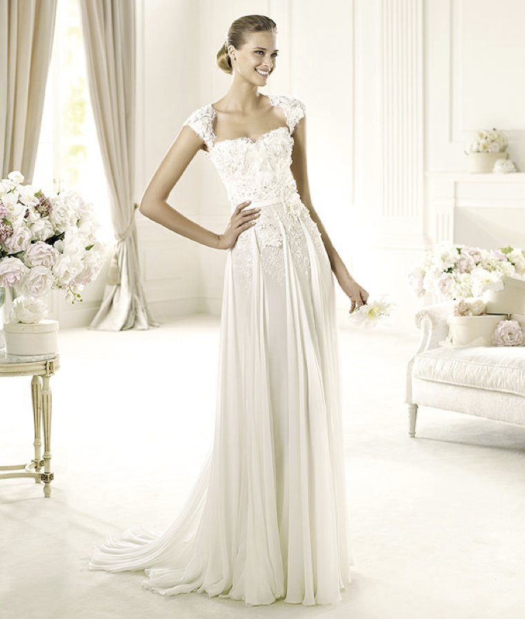 2013 wedding dress Elie Saab bridal collection for Pronovias Galant 2