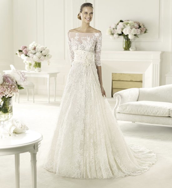 2013 wedding dress Elie Saab bridal collection for Pronovias Folie 2