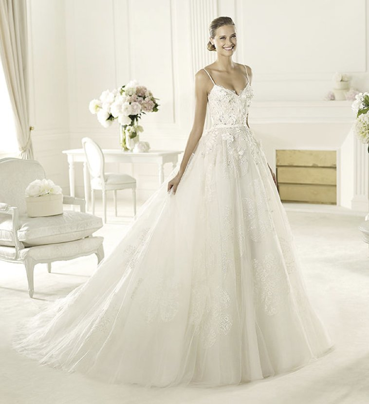 2013 wedding dress Elie Saab bridal collection for Pronovias Dione 2