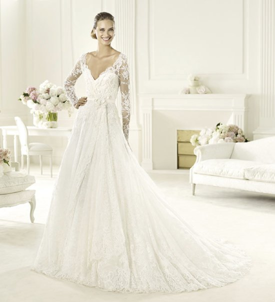 2013 wedding dress Elie Saab bridal collection for Pronovias Birgit 2