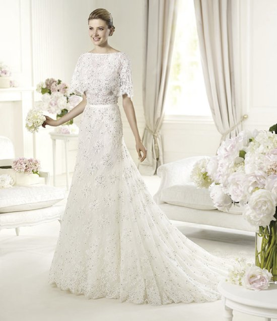 2013 wedding dress Elie Saab bridal collection for Pronovias Magots 3