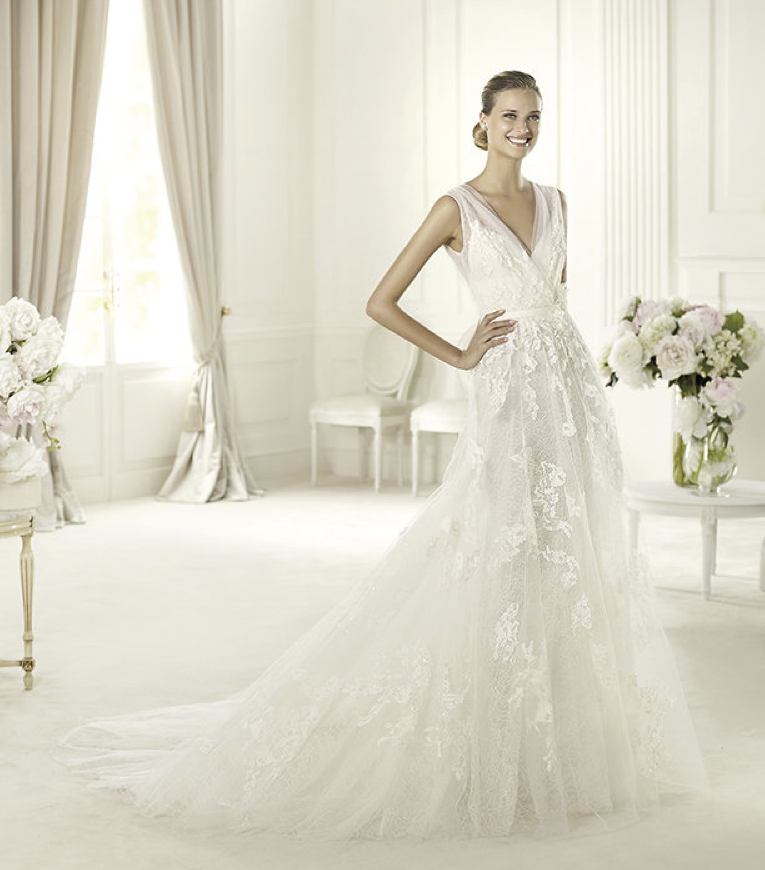 2013 Wedding Dress Elie Saab Bridal Collection For Pronovias Simone A