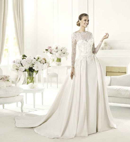 2013 wedding dress Elie Saab bridal collection for Pronovias Monet a