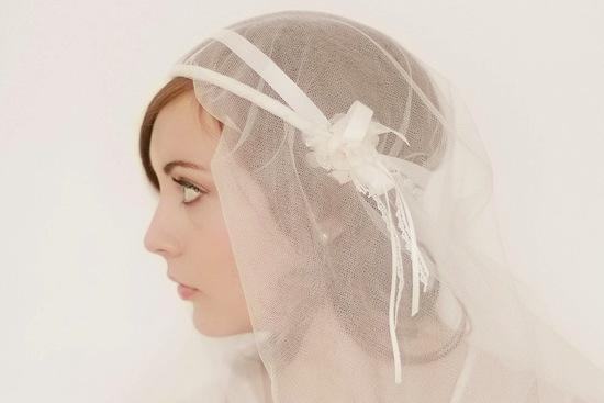 tulle wedding accessories for romantic brides from Etsy juliet cap