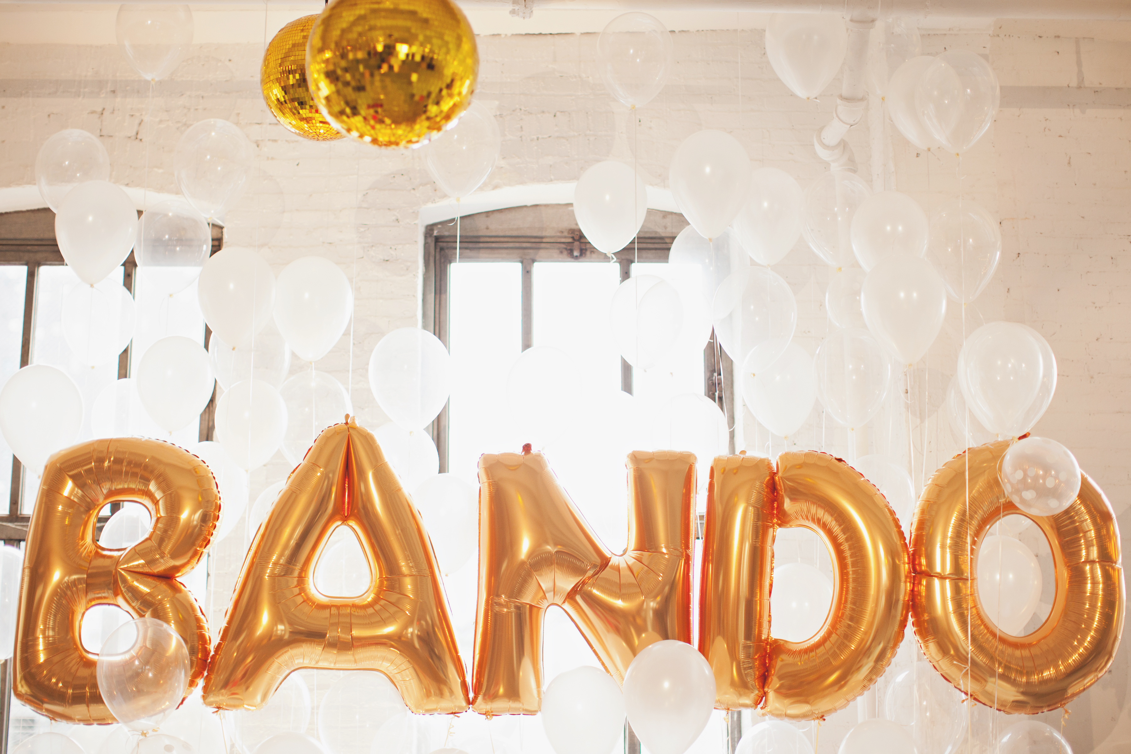 giant gold letter balloons bigger balloons for the wedding day onewed