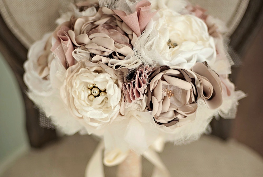 Romantic-wedding-color-inspiration-soft-mauve-from-etsy-romantic-fabric-bouquet-1.full