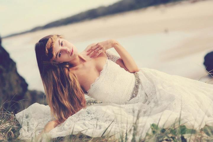 Bohemian-bride-at-a-beach-wedding-bridal-gown-beauty-inspiration-8.full