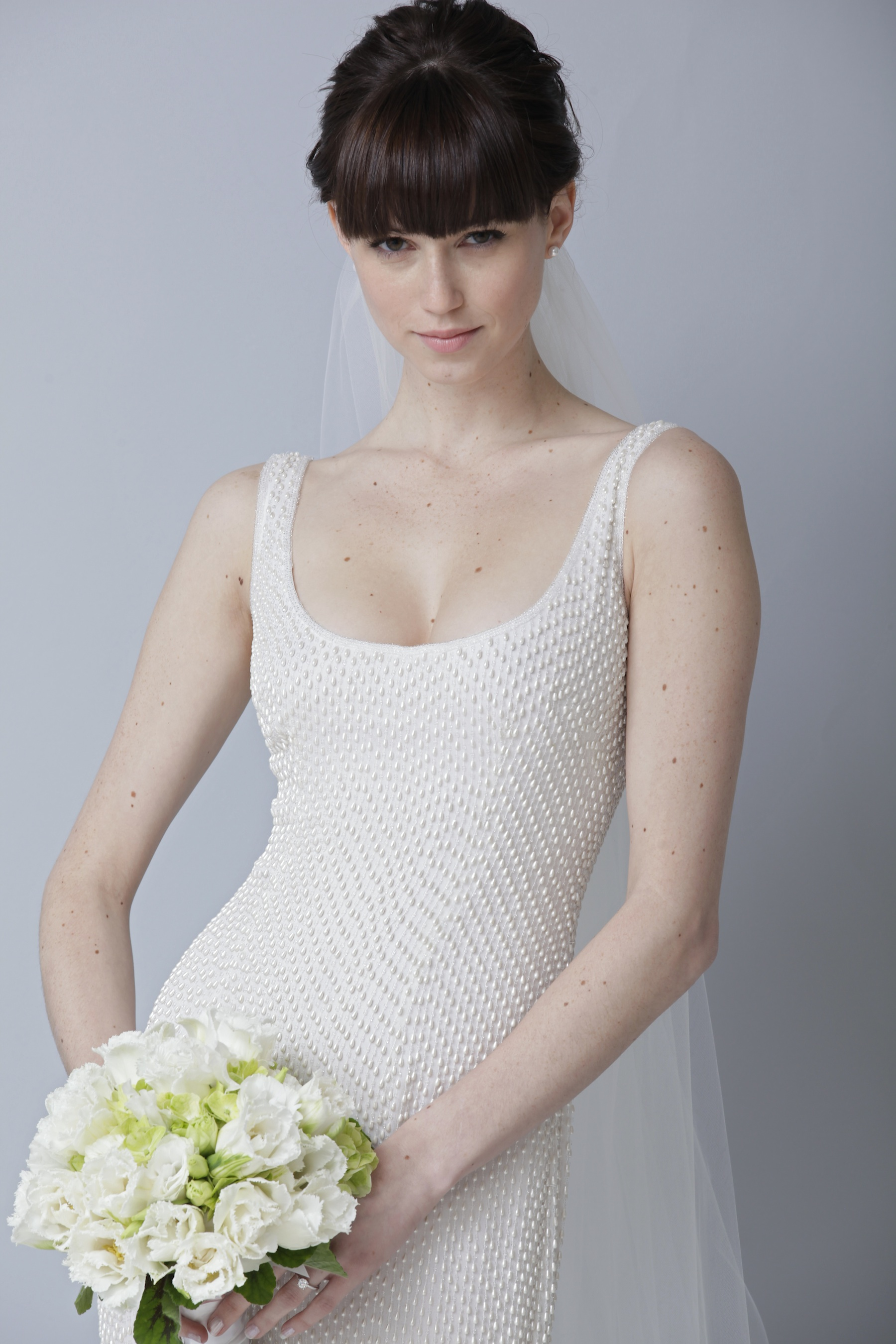2013 wedding dress by theia bridal gowns scoop neck With scoop neck wedding dress