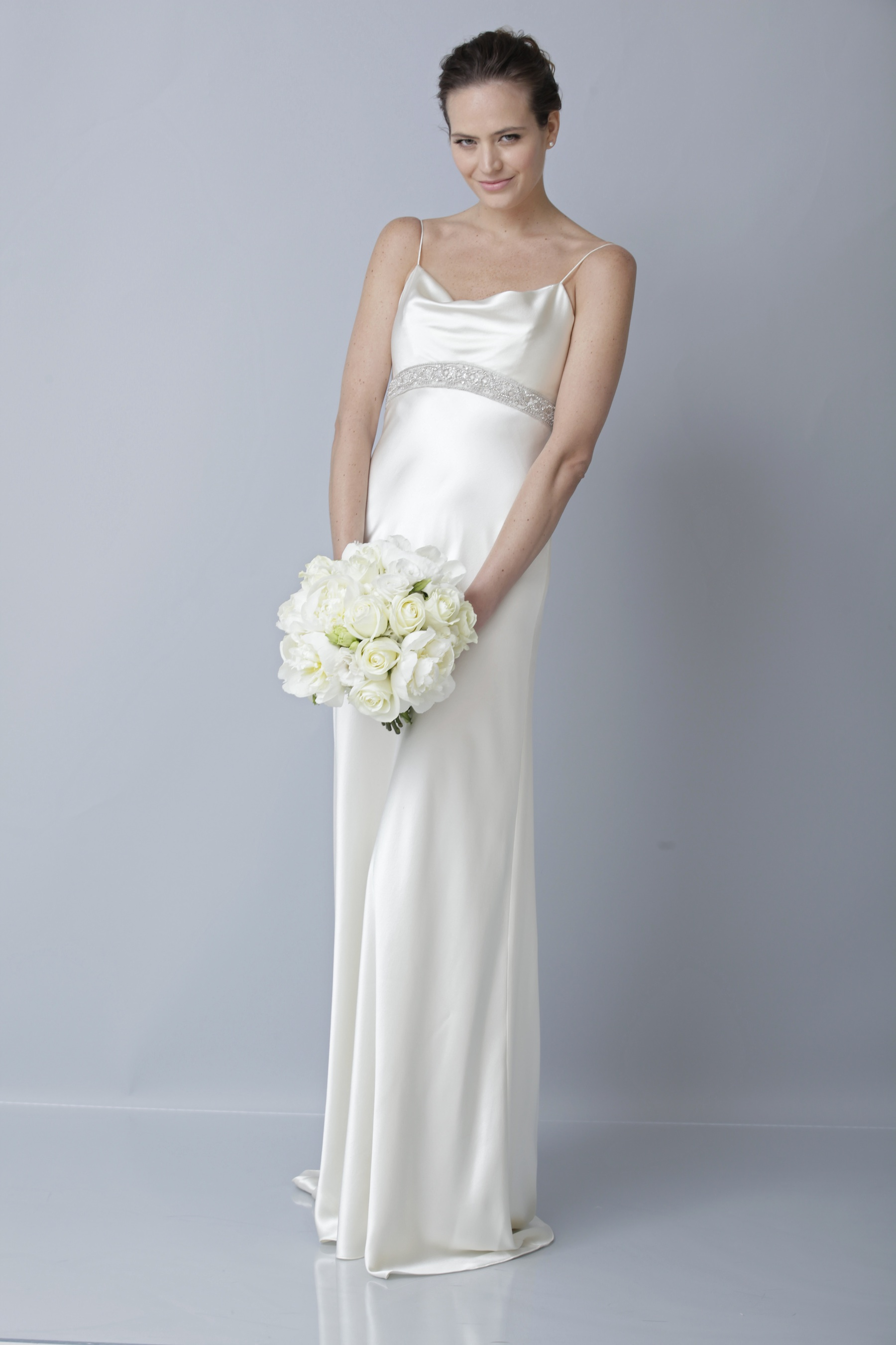 2013 wedding dress by theia bridal gowns slinky silk With slinky wedding dress
