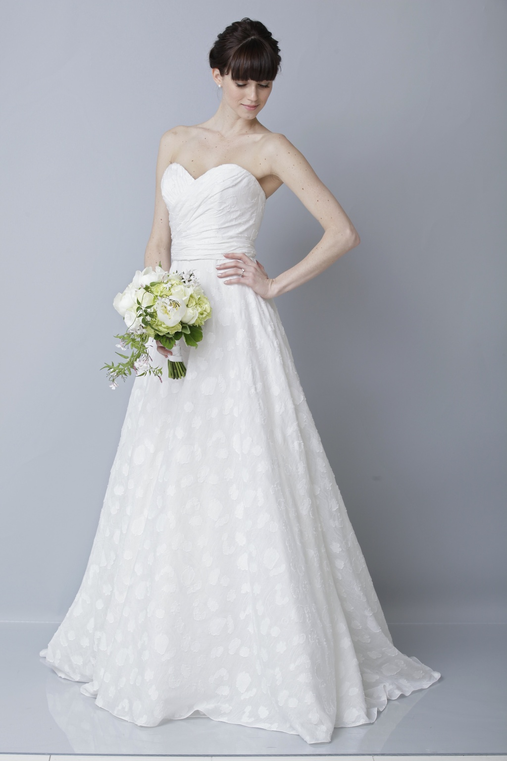 2013 wedding dress by Theia bridal gowns classic a line