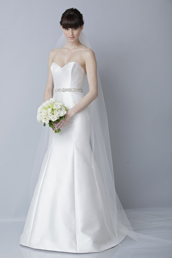2013 wedding dress by Theia bridal gowns sweetheart mermaid