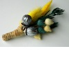 Unique-boutonnieres-for-grooms-handmade-weddings-by-etsy-yellow-teal.square