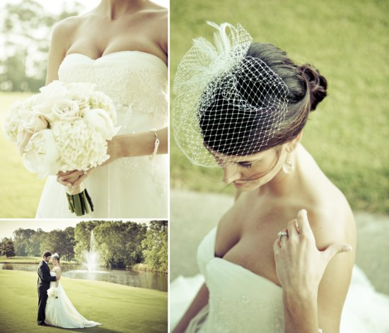 Charming Country Club Wedding Grooms Boutonniere