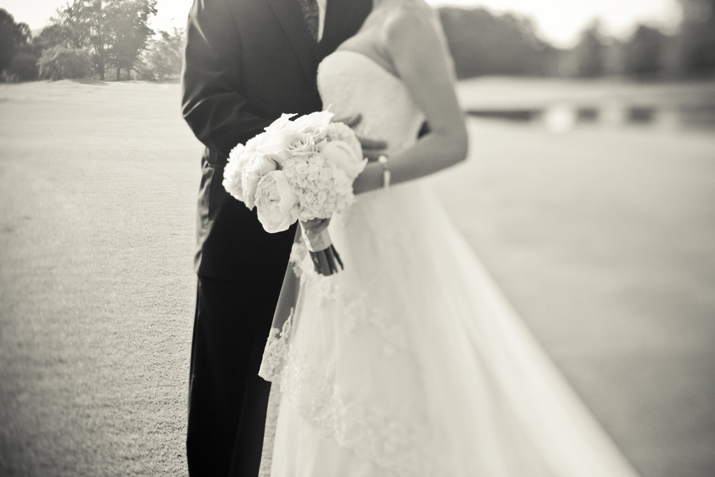 Georgia Wedding Photography Country Club Venue Bride And Groom