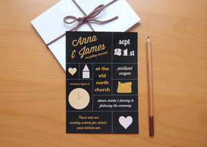 photo of wedding invitations for modern weddings Etsy wedding finds infographic