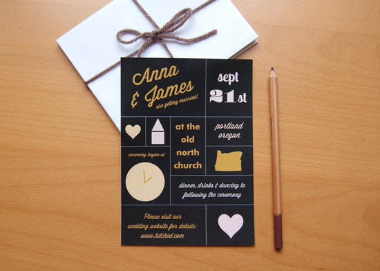 wedding invitations for modern weddings Etsy wedding finds infographic