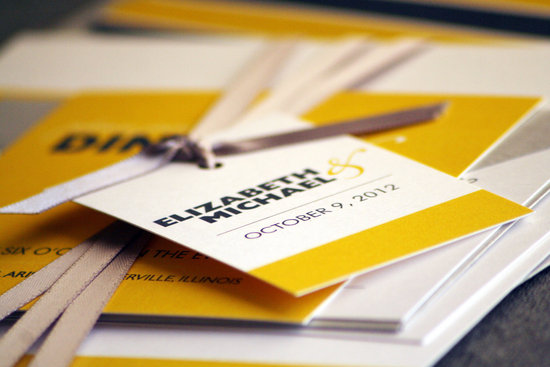 wedding invitations for modern weddings Etsy wedding finds yellow black bold