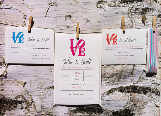 wedding invitations for modern weddings Etsy wedding finds LOVE