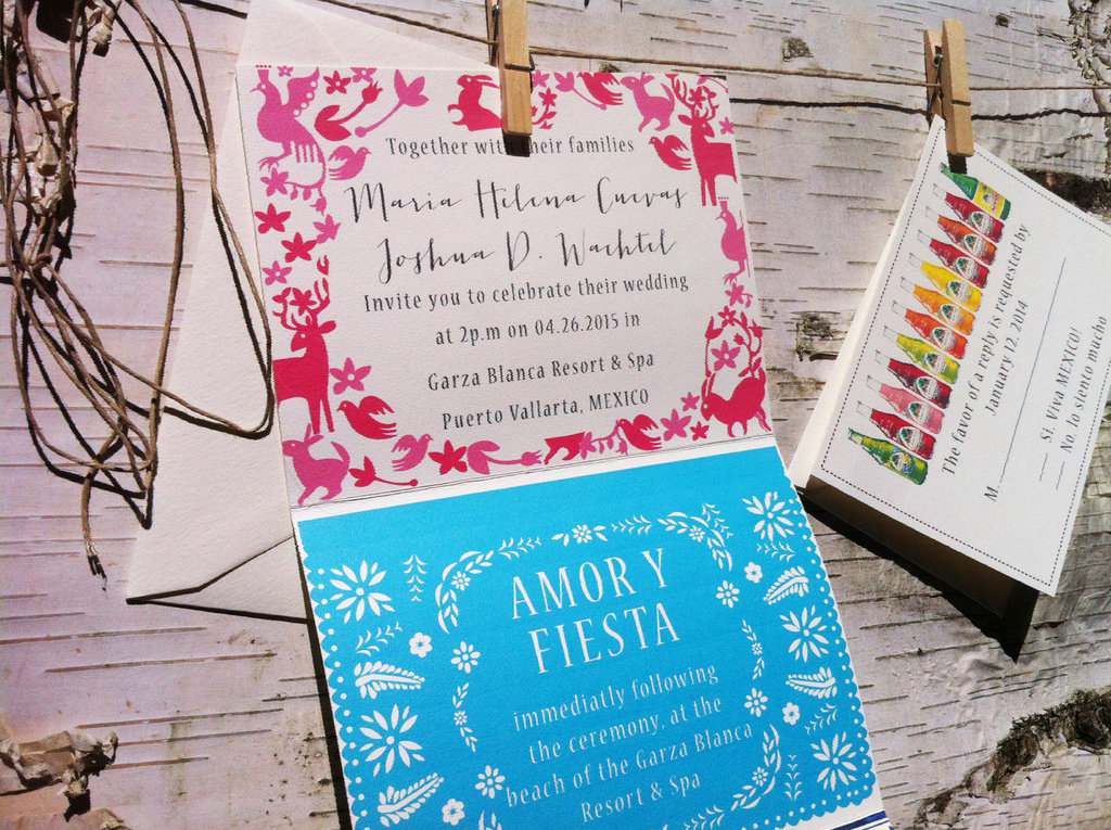 wedding invitations for modern weddings Etsy wedding finds modern Mexico