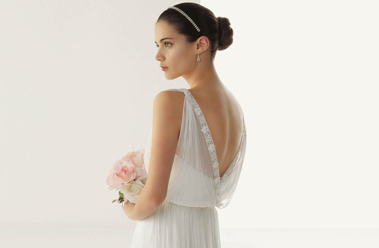 2013 wedding dresses beautiful statement backs by Rosa Clara v back sheer