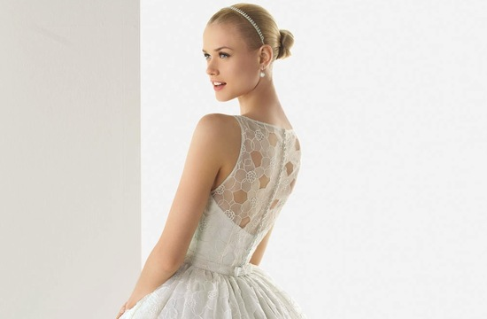 2013 wedding dresses beautiful statement backs by Rosa Clara 6