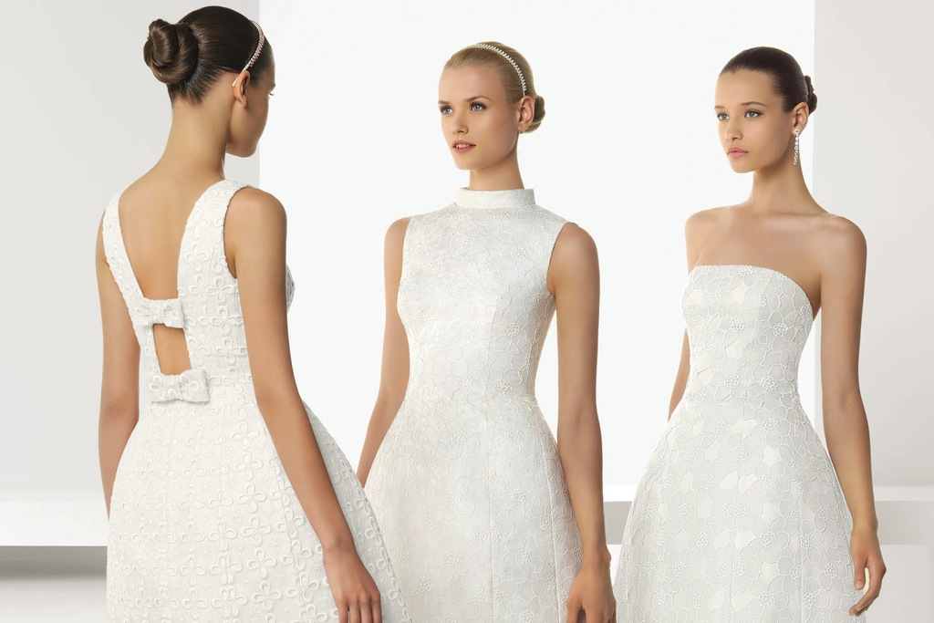 2013 wedding dresses beautiful statement backs by Rosa Clara LWD