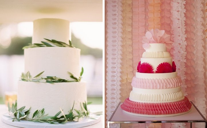 simple wedding cakes suggested by Brooklyn Bride 4