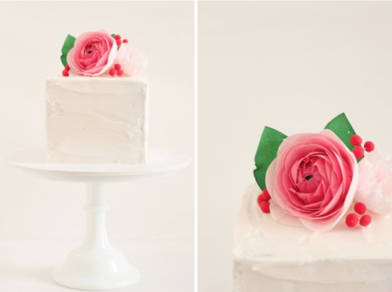 photo of 5 Simple, Stunning Wedding Cakes