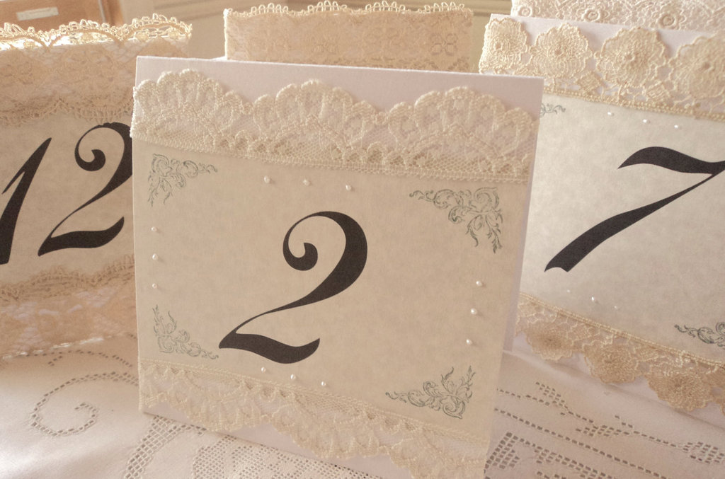 pearl wedding accessories handmade Etsy wedding finds table numbers