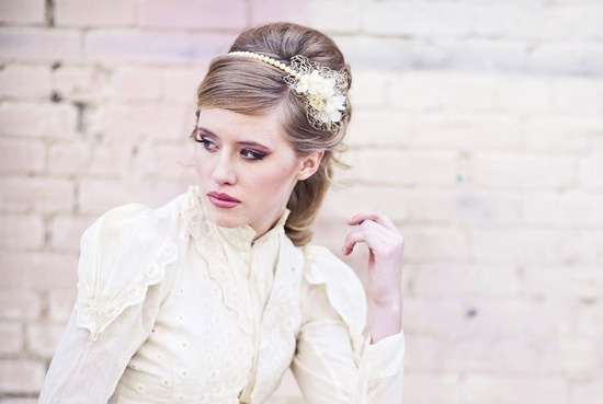 pearl wedding accessories handmade Etsy wedding finds bridal headband 2