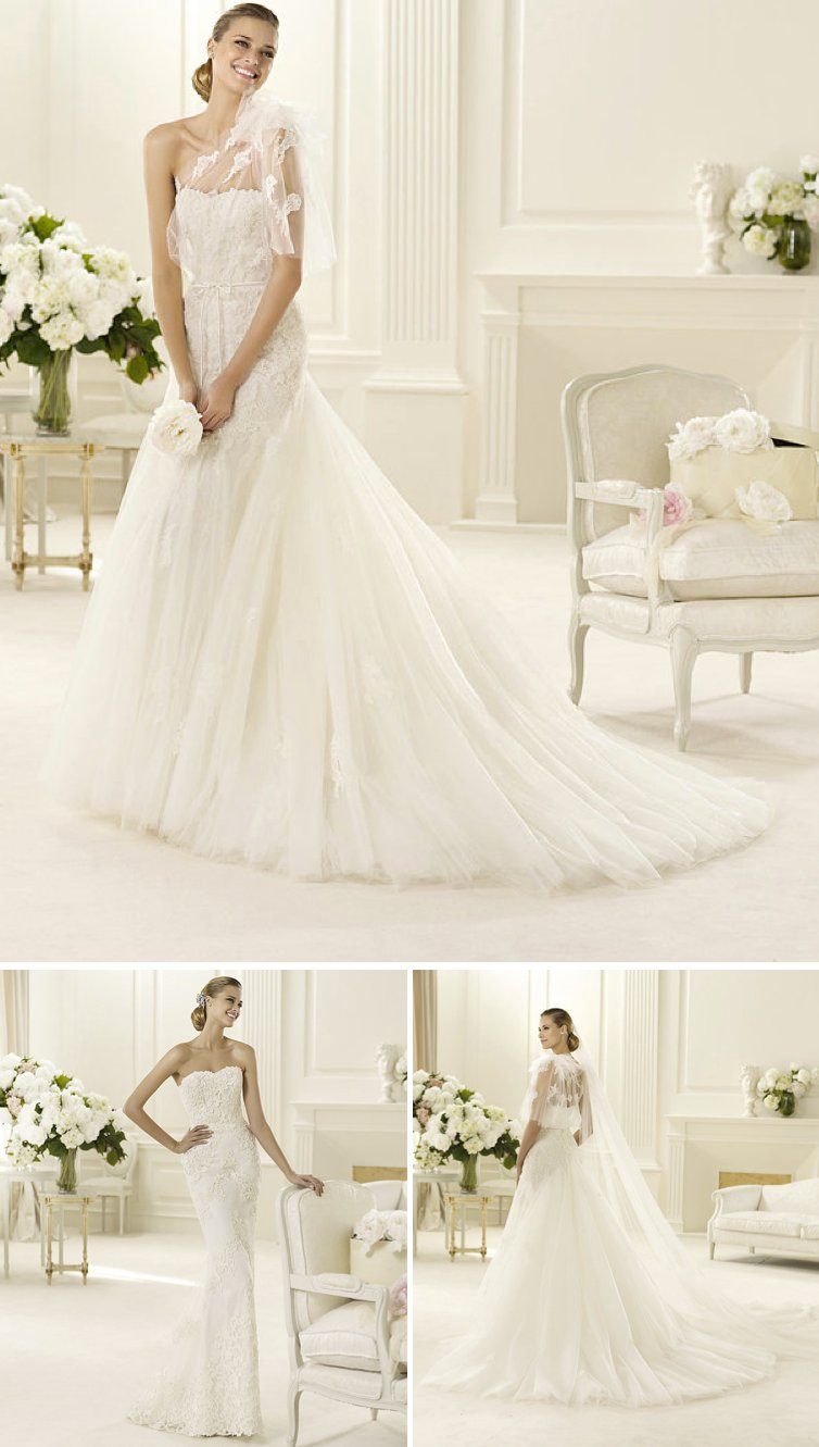 Transforming Wedding Dresses 2017 Bridal Gown Manuel Mota For Ovias Lace Tulle 2